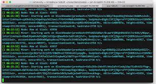 node js running a node js miner for nimiq