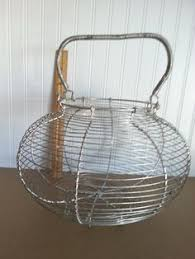egg baskets this wire egg basket is the addition to your farmhouse