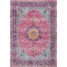 Verona Rugs Bungalow Rose Varun Pink Purple Area Rug U0026 Reviews Wayfair