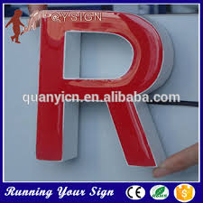 signs epoxy resin led lighted letters for merry christmas buy