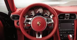 Porsche Cayenne Red Interior - 2011 grey porsche 911 turbo wallpapers