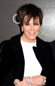 kris jenner diamond earrings kris jenner gives a masterclass in monochrome stepping out with