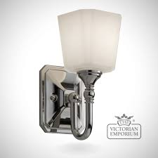 concord bathroom single wall light in polished chrome lights