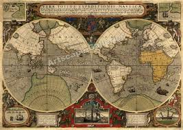 Old World Maps by Old Maps From The Past Centuries