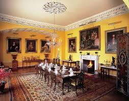 Regency Dining Room The Formal Dining Room And Loiving Room - Regency dining room