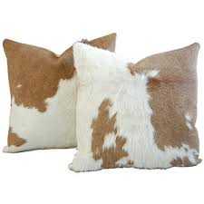 Cowhide Pillows Cushions 2 Polyvore