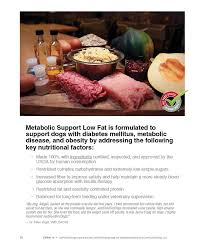 metabolic support low fat justfoodfordogs