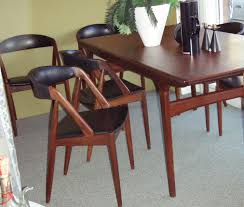 gallery sold tables 2006 0622image0003 vintage teak danish modern dining room table designed by n o neils moller
