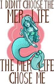 Mermaid Meme - we know we were chosen for the mermaid life we love mermaids