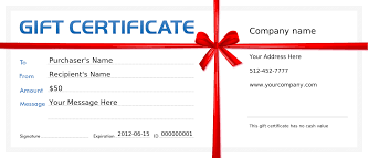 100 free printable massage gift certificate templates gift