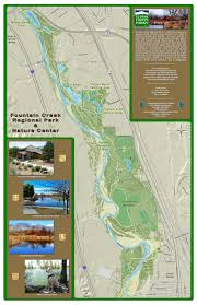 Map Of Colorado Springs Area el paso county colorado u2022 fountain creek nature center