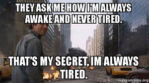 I M So Tired Meme - hilarious marvel memes that get real af thethings