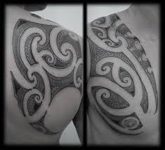 samoan tribal tattoo for chest real photo pictures images and