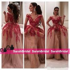 myriam fares 2016 celebrity military ball gowns two pieces v neck