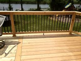 Wooden Designs by Wooden Patio Railings Stair Design Ideas
