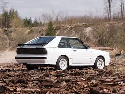 audi quattro here s your chance to own a 1985 audi sport quattro