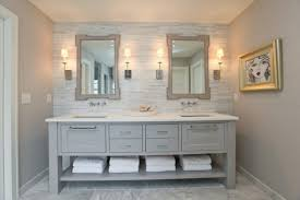 Bathroom Double Vanity Cabinets by Double Elegant Bathroom Sink Designing
