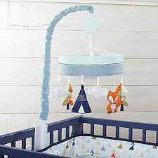 Just Born Crib Bedding Just Born Adventure Musical Mobile Buybuy Baby