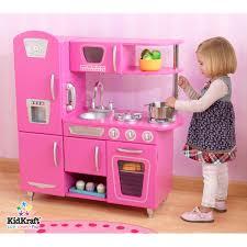 Kidkraft Kitchens Kidkraft Bubblegum Vintage Kitchen 53220 Walmart Com