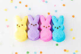 easter rice krispie treats bunny peeps momma