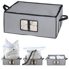 buste sottovuoto per piumoni scatole misterpack combo scatola e sacco sottovuoto 60x40x24 cm