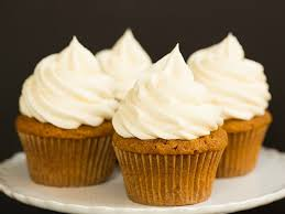 pumpkin cupcakes with cheese frosting brown eyed baker