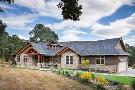 Bi Level Floor Plans With Attached Garage by Beautiful Northwest Ranch Home Plan 69582am Architectural