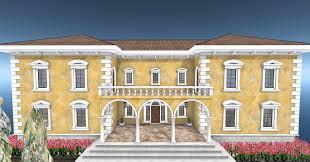 home italian villa homes