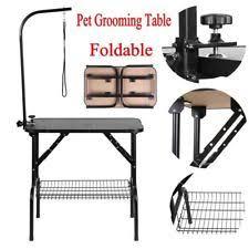 diy dog grooming table unbranded folding dog grooming tables ebay
