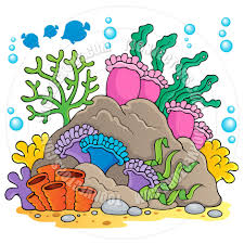 reef clipart coral reef pencil and in color reef clipart coral reef