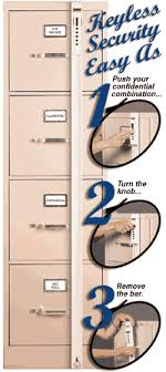 how to lock a filing cabinet without a lock file cabinet locks