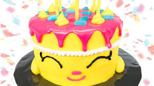 shopkins cake how to make shopkins