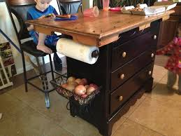 make dresser into kitchen island dresser into kitchen cabinet
