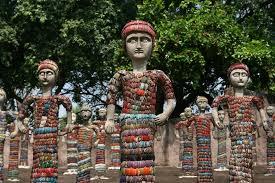 Nek Chand Rock Garden In Pictures India S Nek Chand Creator Of The Rock Garden Dies