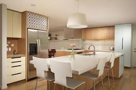 kitchen island with seating area how to choose seating for your kitchen island freshome com