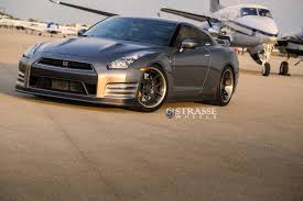 nissan gtr black edition alpha 7 nissan gt r black edition with strasse wheels gtspirit