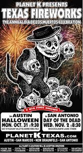 halloween store in san antonio planet k u0027s texas fireworks the annual dias de los muertos