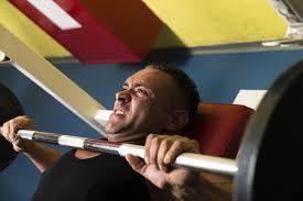 bench pressing causing shoulder pain livestrong com