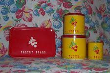 vintage kitchen canisters collectible metal kitchen canisters ebay