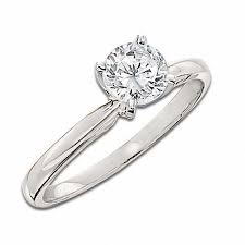 zales outlet engagement rings 1 1 2 ct certified solitaire engagement ring in 14k white