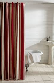 Stripe Shower Curtains Cameron French Stripe Shower Curtain Revibe Designs