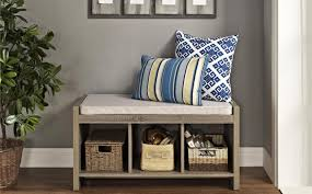 White Storage Bench For Bedroom Bench Beautiful Storage Bench With Cushion Beautiful Cushioned