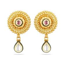 gold earrings online gold earrings buy gold earrings online shopping in india best