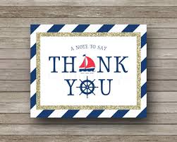nautical thank you cards nautical thank you cards navy gold sailboat nautical