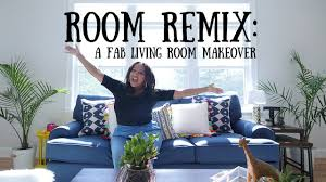 room remix a fab living room make over youtube