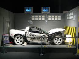 corvette car crash corvette crash tester p17y056 test c10738 the car was cr flickr