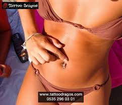 gobek piercingi göbek piercing 3555 tattoo dragos
