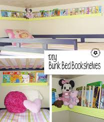Beds With Bookshelves Diy Pocket Front Facing Book Shelves For Kids Onecreativemommy Com
