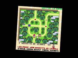 Super Mario World Map Vgmusic Remix Super Mario World Forest Of Illusion Map Music