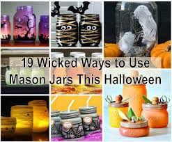 Halloween Crafts To Make At Home - 19 creative ways to use mason jars this halloween find fun art